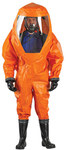 Ansell Microchem 6000 Orange Large Reusable Chemical-Resistant Suit - 076490-18393