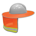 ML Kishigo Orange Polyester Full Brim Sun Shield - MLK 2874