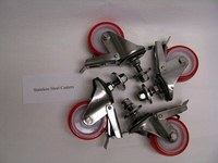 3M Matic Steel Stainless Steel Casters - 58118