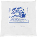 Shipping Supply Ice-Brix Kraft Cold Packs - 6 in x 5.75 in x 1 in - SHP-2295