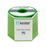 Kester 245 No Clean Flux Core Lead-Free Solder Wire - 1 lb - 0.062 in Wire Diameter - Sn/Ag Compound - 24-7040-8803