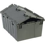 Grey Round Trip Totes - 20.25 in x 14.25 in x 9.625 in - SHP-3064