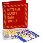 Brady Prinzing Yellow on Red MSDS & GHS Data Sheet Binder - MATERIAL SAFETY DATA SHEETS - English - 754473-43572