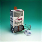 Magic Pure Sight Lens Cleaning Towelette - 100 Tissues/Towelettes - Anti-Fog - 5 in Width - 8 in Length - TW100D