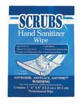 Scrubs Hand Sanitizing Wipe - 1 Wipe Packet - Floral Fragrance - 90901