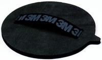 3M Stikit 05591 Disc Hand Pad - Medium Grade - 6 in Length