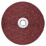 3M 782C Coated Ceramic Quick Change Disc - Fibre Backing - 80+ Grit - 5 in Diameter - 89611