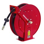 Reelcraft Industries TH80000 Series Hose Reel - 50 ft Hose Included - Spring Drive - TH86050 OMP