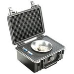 Pelican Black Polypropylene Protective Hard Case - 9.44 in Overall Length - 7.8 in Width - 4.29 in Height - Lockable - 11500