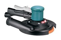 "Dynabrade 58411 8"" (203 mm) Dia. Self-Generated Vacuum Two-Hand Dynorbital Random Orbital Sander"