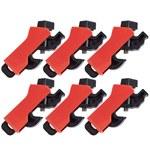 Brady Red Fiberglass Reinforced Nylon Circuit Breaker Lockout Device 149515 - LOTO-96 - 0.5 in Width - 1.3 in Height - 754473-60619