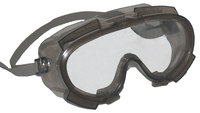 Kimberly-Clark Monogoggle V80 Polycarbonate Safety Goggles Clear Lens - Smoke Frame - Indirect Vent - 761445-10148