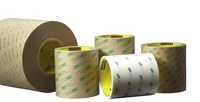 3M 966 Clear Transfer Tape - 1 in Width x 60 yd Length - 2 mil Thick - Densified Kraft Paper Liner - 11709