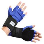Impacto Ergotech ER509 Black/Blue Large Nylon/Spandex/Sorbothane Work Gloves - ER50940