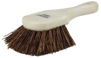 Weiler 791 Utility Scrub Brush - Palmyra Bristle - Foam Block - 8 in Overall Length - 79101