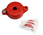Brady Red Polypropylene Gate Valve Lockout 103535 - 754476-17520