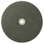Weiler Aluminum Oxide Surface Grinding Wheel - 36 Grit - Coarse Grade - 8 in Diameter - 1 in Center Hole - 1 in Thick - 33052