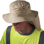 PIP Ez-Cool 396-425 Tan Large Cotton, Polyester Ranger Hat - 616314-95634