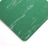Wearwell 710 Green Vinyl Smooth Non-Conductive Switchboard Matting - 3 ft Width - 75 ft Length - 715411-01208