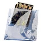 SCS 1900 Series Translucent Metal-In Bag - 12 in Length - 10 in Wide - 2.8 mil Thick - 1901012
