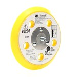 3M 20206 Yellow Sanding Disc Backing Pad - 5/16-24 Hook & Loop Thread Attachment