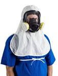 Kimberly-Clark Kimtech Pure A5 Sterile White Universal Cleanroom Hood - 036000-40616