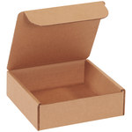 Shipping Supply Kraft Literature Mailers - 6 in x 6 in x 2 in - SHP-13235
