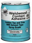 Dap Weldwood Contact Adhesive Natural Liquid 1 gal Pail - 00233