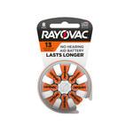 Rayovac Longest Lasting Hearing Aid Battery - Single Use 13 - L13ZA-8ZM