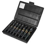 Precision Twist Drill C8R56CO Reduced Shank Drill Set - 118° Point - Right Hand Cut - Cobalt (HSS-E) - 090328