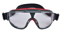 3M GoggleGear Scotchgard 500 GG501NSGAF Safety Goggles Clear Lens - Black Frame - Indirect Ventilation - 051131-27561