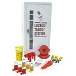 Brady White Lockout/Tagout Kit - 9.5 in Depth - 15 in Width - 30.25 in Height - 754473-63175