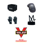 Valeo Black Large Wrist Support - Thumb Loop - 736097-00497