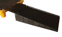 Sellars 700 lb Black Polyethylene Shipping Container Ramp - SELLARS 90678