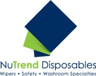 NuTrend Spunlace M-S7500 Blue Spunlace Cleaning Wipe Roll - Interfold - 2000 yd Overall Length - 36 in Width - NUTREND M-S7500