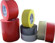 Polyken Berry Global 833 Silver Polyethylene Film Masking Tape - 48 mm (1 7/8 in) Width x 55 m Length - 833 48MM X 55M SILVER