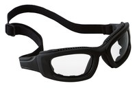 3M Maxim 2x2 40686-00000 Polycarbonate Safety Goggles Clear Lens - Black Frame - Non-Vented - 078371-62166