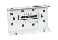 Kimberly-Clark Grabber White Wiper Dispenser - 1 unit per pack - 2.75 in Overall Length - 9.31 in Width - 09352