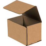 Shipping Supply Kraft Corrugated Mailers - 5 in x 5 in x 5 in - SHP-14142