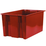 Red Stack & Nest Containers - 26.625 in x 18.25 in x 14.875 in - SHP-3050