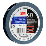 3M GT1 Blue Gaffer's Tape - 24 mm Width x 50 m Length - 11 mil Thick - 98496