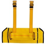 DBI-SALA Yellow Medium Nylon Body Belt - Derrick Belt - 840779-01497