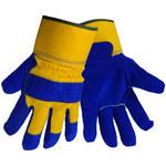 Global Glove 2805 Blue Large Split Leather Cold Condition Gloves - 2805/LG