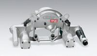 Dynabrade 14303 Dynangle II Abrasive Belt Tool, Dual Motor w/Platen