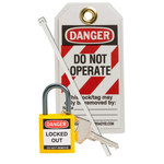 Brady Yellow Lockout/Tagout Kit - 754473-71982