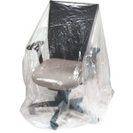 Clear Furniture Cover - 61 in x 28 in - 1 Mil Thick - SHP-6646