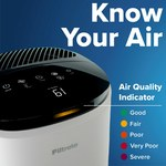 3M Filtrete FAP-ST02N Smart Room Air Purifier - Large Room - 310 sq ft - 85230
