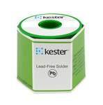 Kester Solder Without Flux Core Lead-Free Solder Wire - 1 lb - 0.062 in Wire Diameter - Sn/Ag/Cu Compound - 14-7068-0062