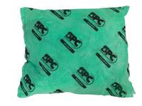 Brady Hazwik Green Polypropylene 14 gal Absorbent Pillow 107712 - 18 in Width - 18 in Length - 662706-28208