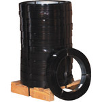 Black Steel Strapping - 3930 ft x 0.5 in - SHP-7167